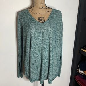 NWT Wild Fable Raw Edge Top, size large